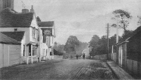 London Road up to Brentwood c1906